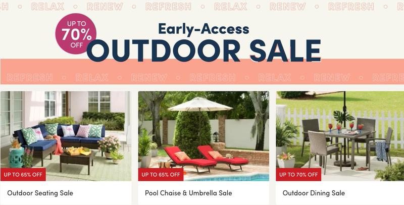 Outdoor Sale   Wayfair