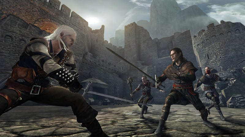 Illustration for article titled The Witcher Looks Lovely On Consoles Too