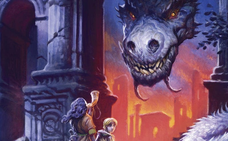 Illustration for article titled Frostborn Is The Fantasy Adventure Book I Wish I'd Had When I Was A Kid