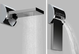 really cool shower heads. Hmmm. Do I Want My Shower Rainfall Style Or Waterfall Style? Certainly Hope This Aquavolo Showerhead From Bossini Is Sturdy\u2014because Would Be Flipping Really Cool Heads D