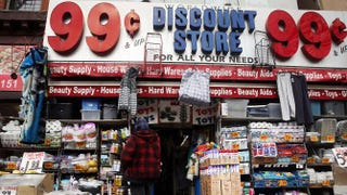 A discount store in Brooklyn, N.Y., that is not associated or affiliated with the lawsuit Spencer Platt/Getty Images