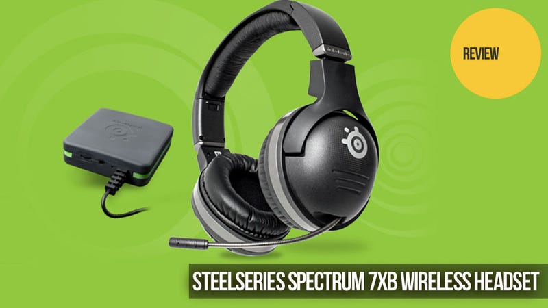 Illustration for article titled The SteelSeries Spectrum 7XB Silences Doubts About High-End Wireless Gaming Headsets