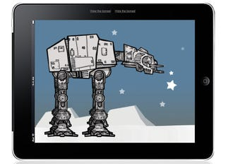 Illustration for article titled Watch As This AT-AT Walker Stomps All Over Flash