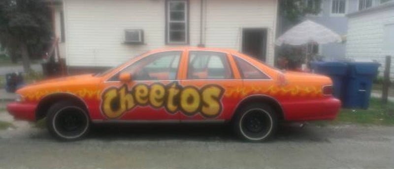 Illustration for article titled For $6,000, Cheetos Never Prosper
