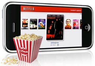 Illustration for article titled Netflix Could Be Cooking Up Streaming On the iPhone and Wii