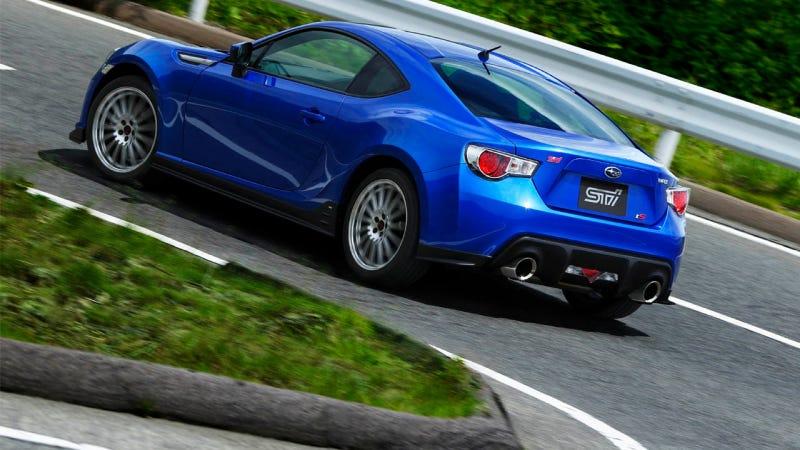 Illustration for article titled The Subaru BRZ tS: Better Handling For Your Pleasure