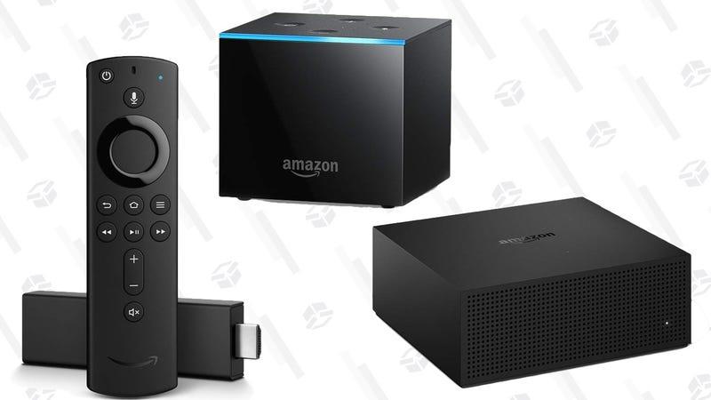 Amazon Fire TV | $25 | AmazonAmazon Fire TV 4K | $35 | AmazonAmazon Fire TV Cube | $60 | AmazonAmazon Fire TV Recast 500GB | $180 | AmazonAmazon Fire TV Recast 1TB | $220 | AmazonAmazon Fire TV Recast 500GB + Antena + Fire TV Stick 4K | $235 | AmazonGráfico: Shep McAllister