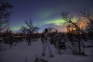 Illustration for article titled Pucér újoncokat futtattak mínusz 20 fokban a norvég hadseregben