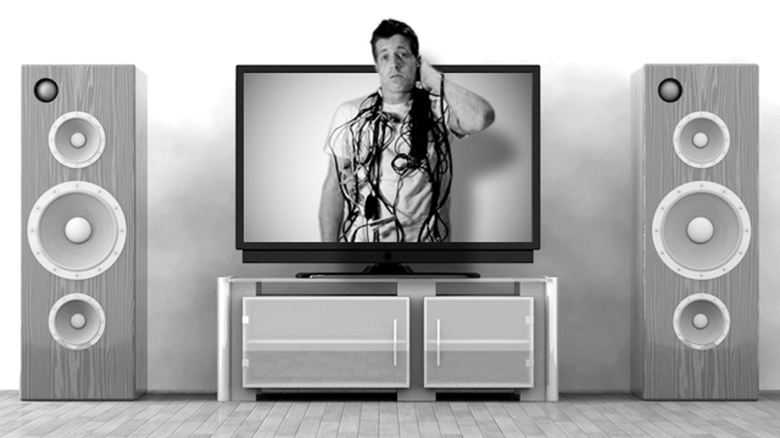 How To Organize And Declutter Your Entertainment Center Tv Component Wiring Guide