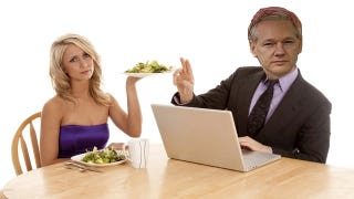 Illustration for article titled Win a Date with Accused Internet Celebrity Rapist Julian Assange!