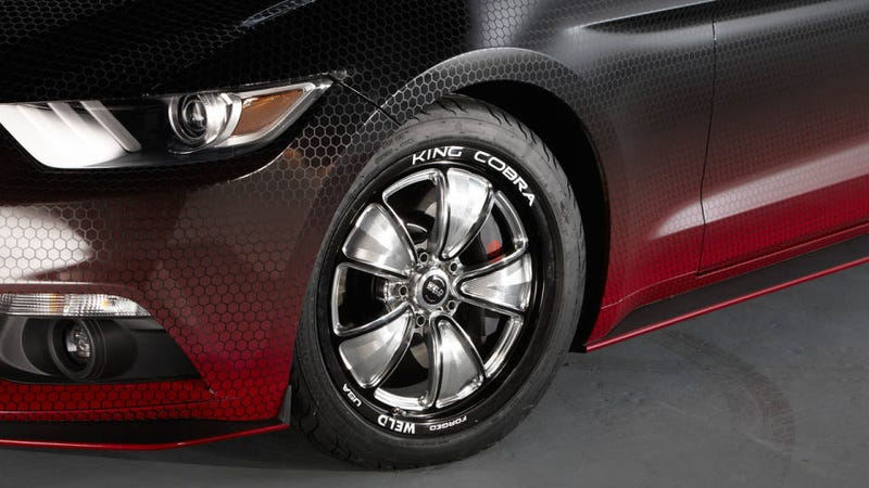 how the 2015 ford mustang king cobra runs a 1097 second quarter mile - Ford Mustang King Cobra 2015