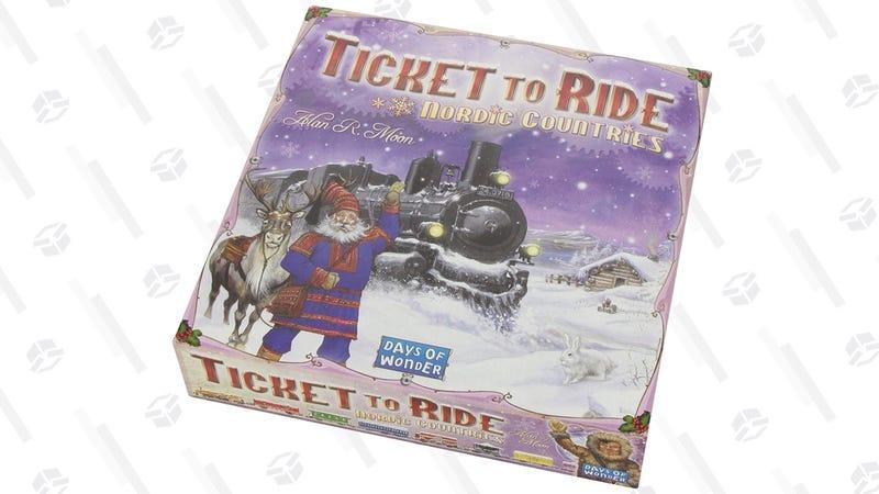 Ticket to Ride: Países Nórdicos   $26   AmazonGráfico: Shep McAllister