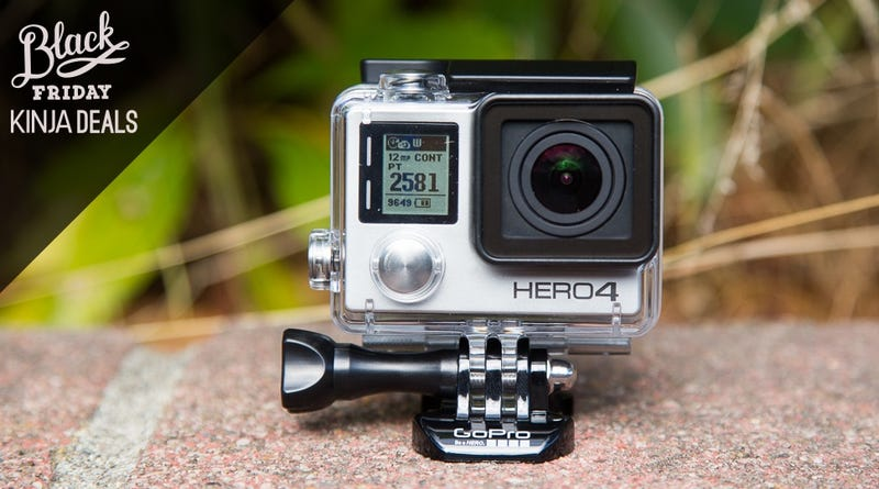 Illustration for article titled Amazon's GoPro Hero 4 Bundle Includes a $50 Gift Card and 32GB MicroSD
