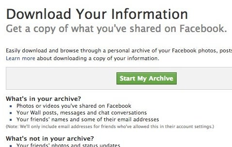 How to Automatically Archive Every Facebook Photo You're