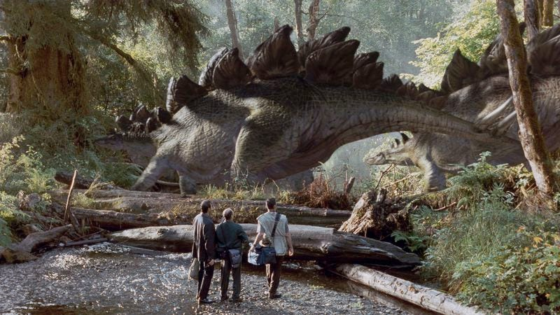 could the lost world actually be better than jurassic park