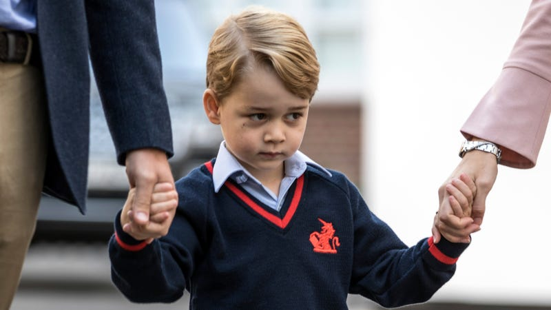 Hrh Prince George Of Cambridge Condescends To Start Prep School
