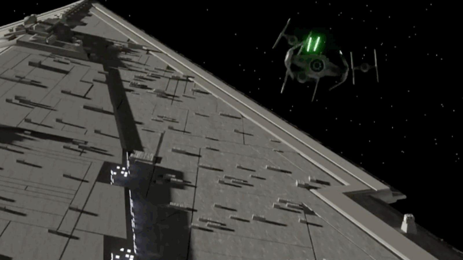 Reserva 10 minutos para disfrutar los geniales efectos visuales de este corto de Star Wars