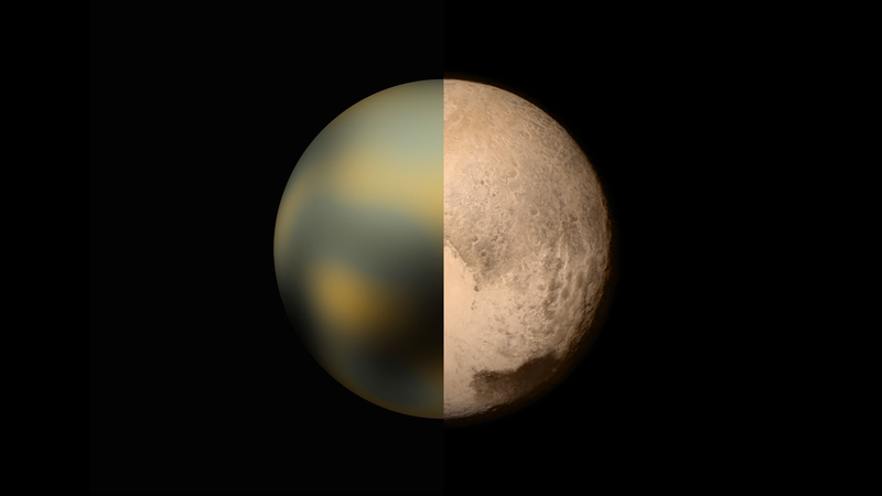 Illustration for article titled How Good Were We At Guessing What Pluto Would Look Like?