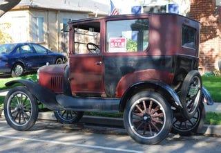 Illustration for article titled 1924 Ford Model T Tudor