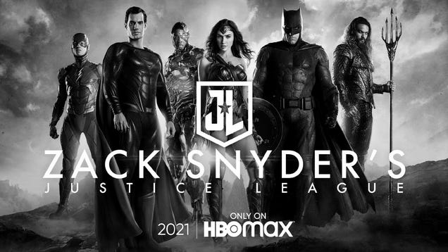 The  Snyder Cut  of Justice League Is Being Released