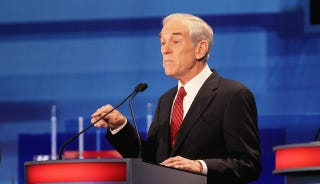 Illustration for article titled Ron Paul Not A Bigot, Just A Chronically Uncool Dude Who Hates Spanish Speakers