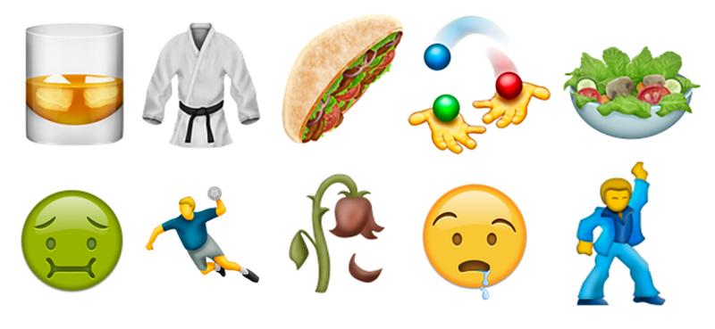 Illustration for article titled Estos son los 74 nuevos emojis que llegarán con iOS 10