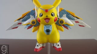 Illustration for article titled Pikachu Meets Gundam Meets Holy Crap
