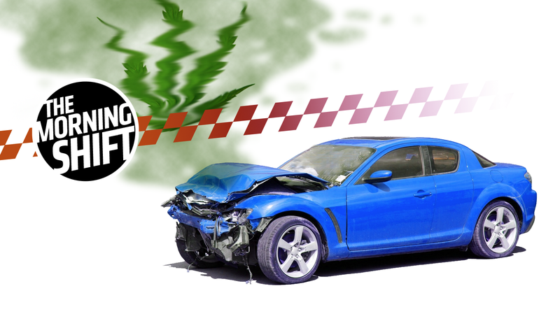 Illustration for article titled States Where Recreational Marijuana Is Legal Are Experiencing More Car Crashes: IIHS (Updated)