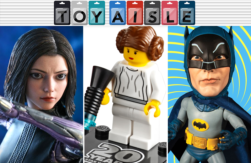 Illustration for article titled Giant Eyes, Giant Heads, and 20 Years of Lego Star Wars Are the Biggest Toys of the Week