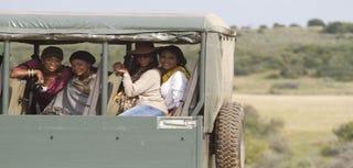 "The ""ladies"" of RHOA go on a safari in South Africa. (RHOA)"