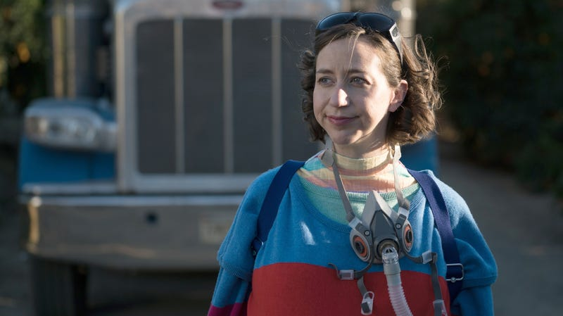 """Illustration for article titled Kristen Schaal to take over """"messenger from the future"""" duties on Bill And Ted Face The Music"""