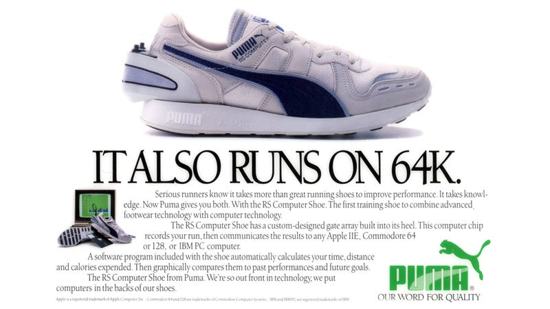Illustration for article titled These Old Pumas Are Way Cooler Than Your New Kicks
