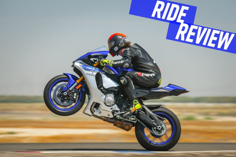 Illustration for article titled Ride Review: The 2015 Yamaha R1 Is Superhero Power Made Easy