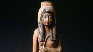 Statue of Ahmose-Nefertari, wife ofAhmose I, in theLouvre Museum,ParisWikimedia Commons
