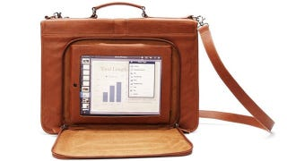 Illustration for article titled Versetta's iPad Bags Look All Business, But Are Actually Tiny Towers-Friendly