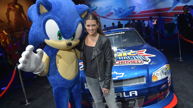 Illustration for article titled Play As Danica Patrick In The New Sonic Game
