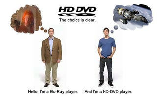 Illustration for article titled A Rant Against Blu-ray vs. HD DVD: Which Hurts The Consumer More?