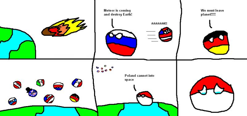 Illustration for article titled Classic Polandball