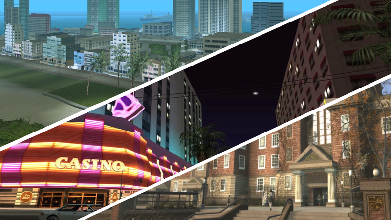 Illustration for article titled The Modders Bringing A Bunch Of Rockstar's Cities Into GTA San Andreas