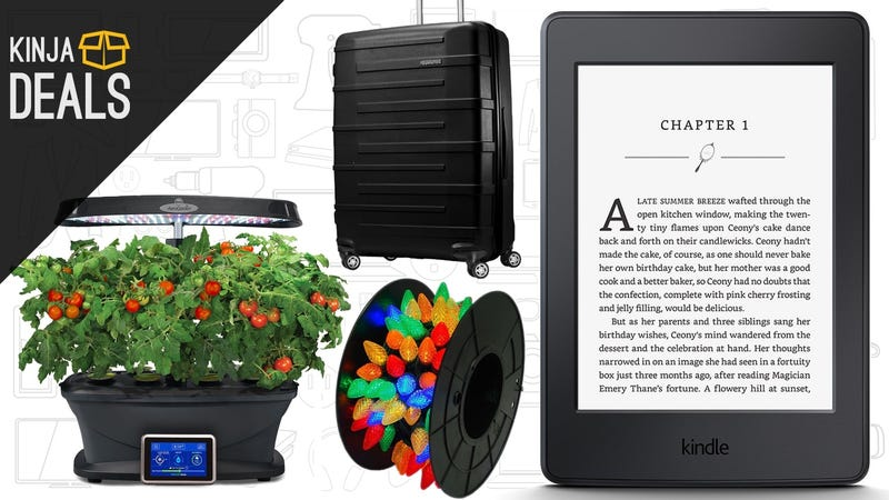 Illustration for article titled Sunday's Best Deals: Cheap Kindles, Indoor Garden, Holiday Lights, and More