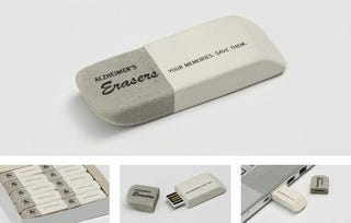 Illustration for article titled This Eraser Can Save Your Memories