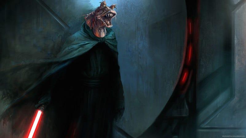 Illustration for article titled El actor que dio vida a Jar-Jar cree en la teoría de que su personaje en realidad es un lord Sith