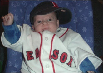 Illustration for article titled The Boston Red Sox Will Brand Your Baby