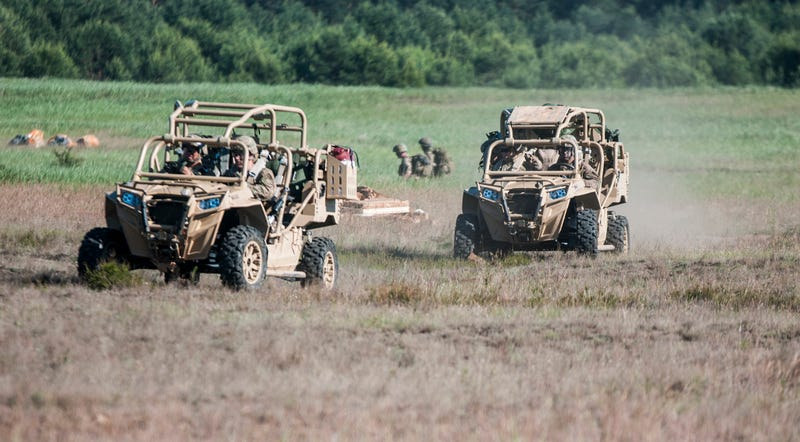 Illustration for article titled The U.S. Army Wants a Super-Light ATV to Ferry Troops on the Battlefield