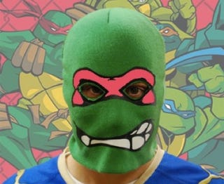 Illustration for article titled A Teenage Mutant Ninja Turtle robbed a Wendy's in Wisconsin