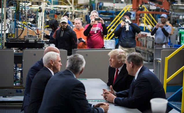 Carrier Workers at  Rescued  Indiana Plant Will Be Replaced by Robots