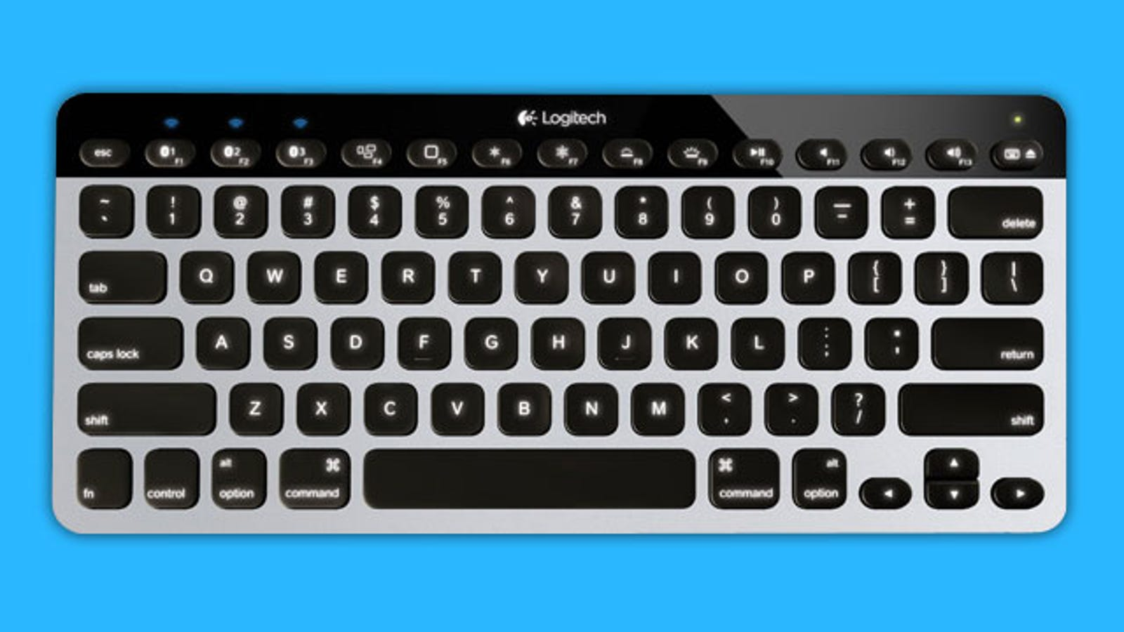 Logitech Easy-Switch Keyboard Pairs with Multiple Bluetooth Devices