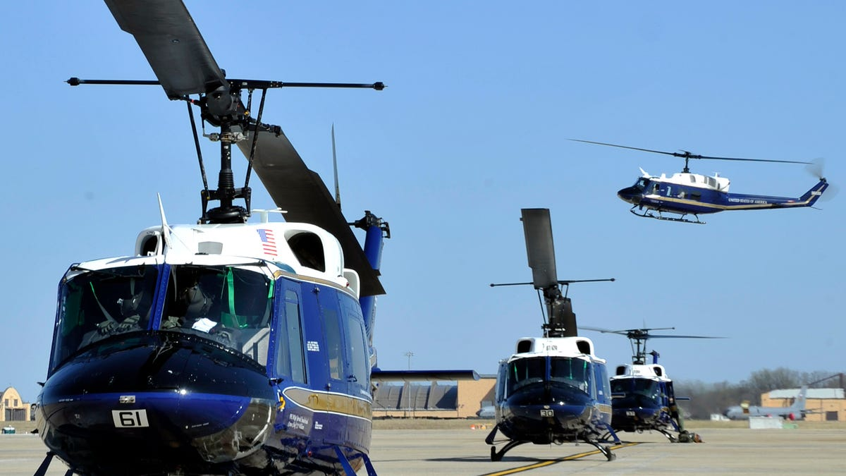 These Elite Military Helicopter Units Fly Washington's Power