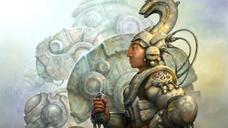 Illustration for article titled Behold, the Aztec mecha and Mayan cyborgs of our Mesoamerican future