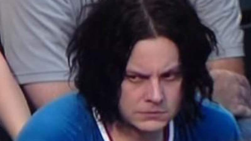 Sad Jack White is not amused.